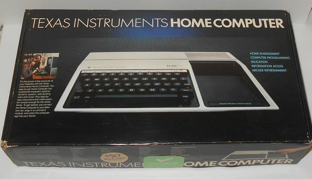 Tested *Minus Mission* TI-994A Texas Instrument Home Computer PHM 3118 Cartridge Cart Black Green Label Learning Math Subtraction 1982