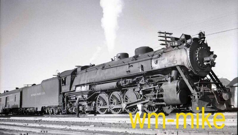 #B-103 SP Southern Pacific 4-8-4 steam #4401 in 1939 ORIGINAL B&W Negative