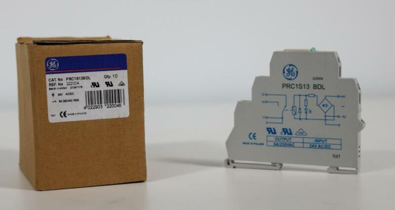General Electric PRC1S13BDL Control Product Relay