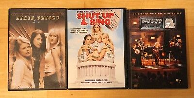 Dixie Chicks 3 DVDs Shut up and Sing