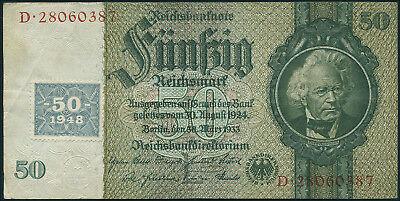 Ro.337c 50 DM 1948 Kuponausgabe (3)