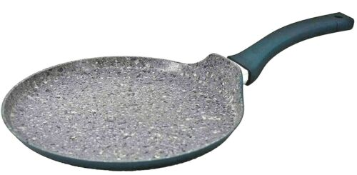 """11"""" Aluminum Non Stick Pizza Pan with Induction Bottom 3-Layer Granite Coating"""