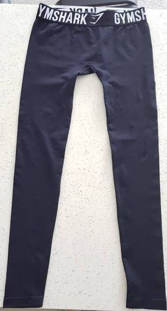 9f2183d5e0d176 New Gymshark Fit Leggings Black and White Size Small | Pants & Jeans