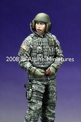 ALPINE MINIATURE MODERN U.S.AFV CREW 1 Scala 1:35 Cod.AP35069