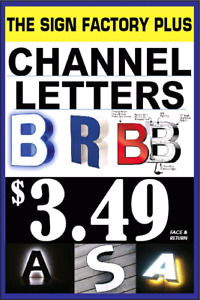 CHANNEL LETTER