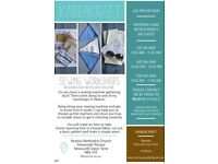 Sewing workshops and courses for all levels of experience