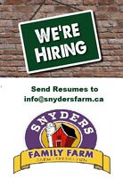 Looking for people to join our FARMTASTIC team this FALL!!