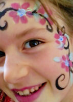 Mommy Make-up face painting