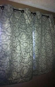 New 2 Blackout Curtain Panels