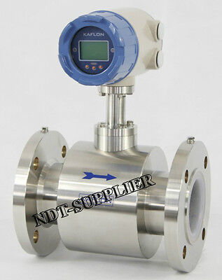 Dn150mm Stainless Electromagnetic Flow Meter Flowmeter Magnetic Flowmeter