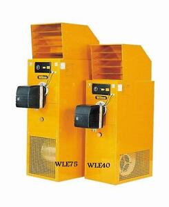 WILMS WLE 40 Heizöl-Heizer Lufterhitzer Dieselheizer Diesel-Heizgerät WLE40