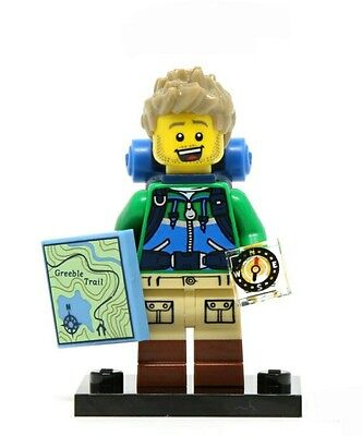 LEGO HIKER #6 Minifigure 71013 Series 16 - NEW FACTORY SEALED - IN HAND