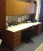 8' commercial desk