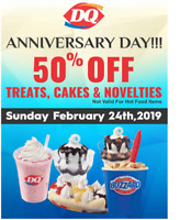 Dairy Queen Anniversary Day!!!