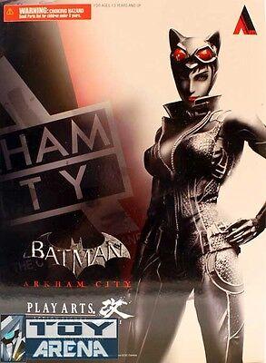 Batman Arkham City Catwoman Play Arts Kai Action Figure Square Enix