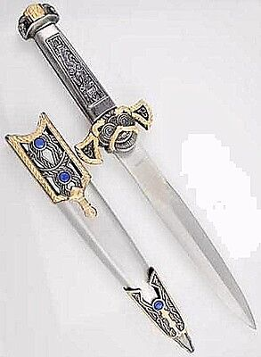 Celtic Athame Dagger Two Tone  Wicca Pagan Ritual Ceremonial Magick Knife Occult