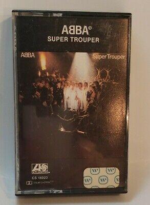ABBA Super Trouper Cassette 1980 Trooper Winner Takes It All Happy New Year