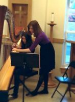 Harp & Piano Lessons with Professional Musician