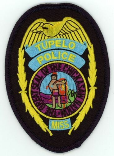 MISSISSIPPI MS TUPELO POLICE NEW PATCH SHERIFF STYLE 2 OF 3