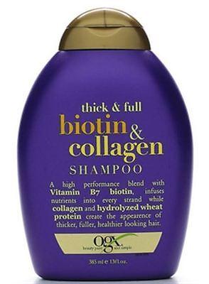 Organix Thick - Full Biotin - Collagen Shampoo 13 oz (Pack of - 13 Oz