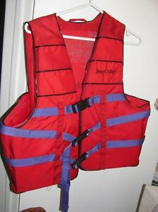2 Adult Safety vests -Life Jackets