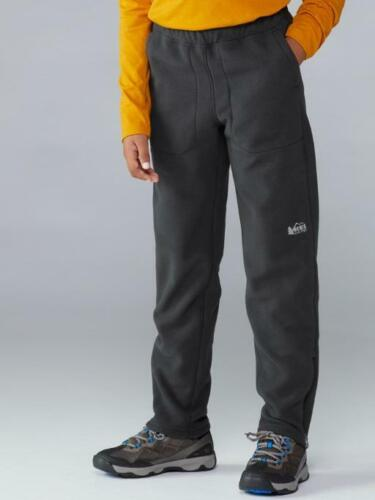 Olive Green NWOT REI Co-op Toasty Fleece Zip-Cuff Pants 14-16 Kids Hiking Skiing
