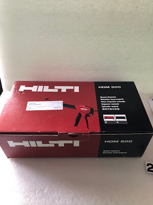 Hilti Hdm 500 Hit-cr 500 Adhesive Epoxy Dispenser Hdm500