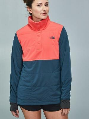 The North Face Mountain Sweatshirt Pullover – Women's XXL Spiced Coral Multi