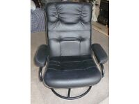 Swivel/recliner chair for conservatory or lounge