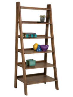 Silverwood 6 Tier A Frame Bookcase