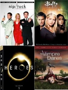 *** Various TV boxset for sale *NEW/USED* (Heroes, Buffy, etc)