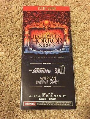 Universal Orlando Halloween Horror Nights 27 Event Guide