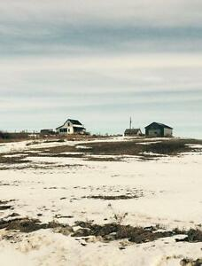 5 acre serviced acreage east of Olds