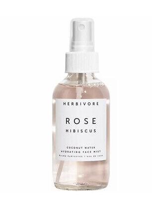Herbivore Rose Hibiscus Flower Coconut Water Hydrating Face Mist 2 oz (Travel)
