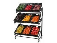 Shop Shelving Mobile Fruit & Veg Display £185.00 + vat