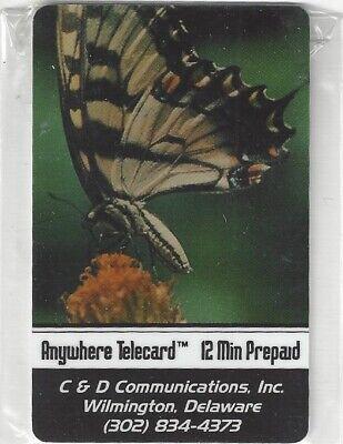 TK 418b Telephonkarte/Phone 12u Schmetterling