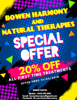 20% OFF All First Time Treatments!!!