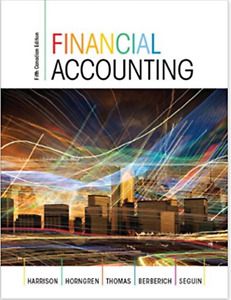 Financial Accounting: Fifth Canadian Edition