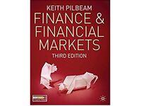 Finance and Financial Markets- K. Pilbeam 3rd Edition