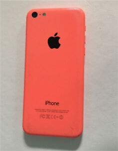 used pink iphone 5c. unlocked, 16g