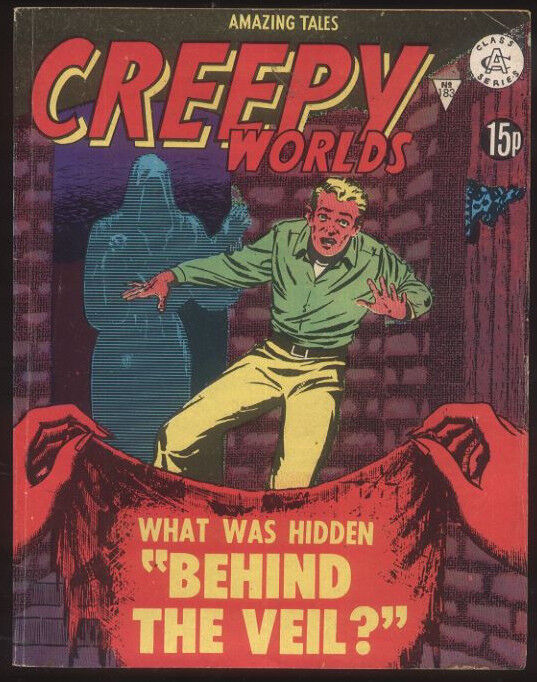 Amazing Tales #183 Creepy Worlds British Comic 60s reprint GA