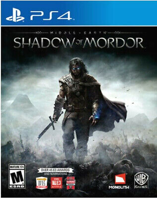 Shadow of Mordor - PlayStation 4 - Ps4 Games - Brand New Factory Sealed LOTR
