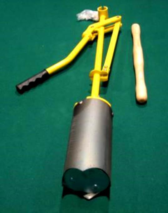 GOLF HOLE CUTTER - LEVER STYLE