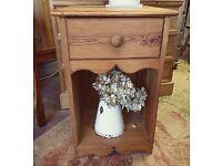 Single pretty solid wood cupboard
