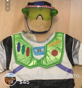 FAMILY HALLOWEEN COSTUME TOY STORY THEME