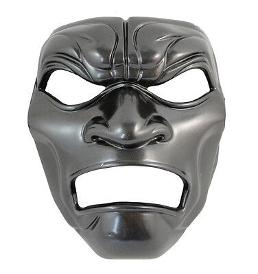 Spartans 300 immortal Mask Movie Masquerade Cosplay Halloween Party black silver (300 Movie Mask)