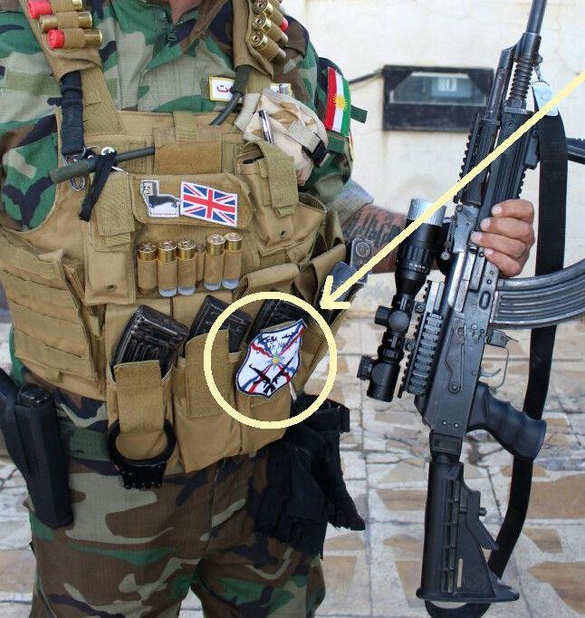 Anti-Isis Syria-Iraq Foreign Christian Legion Fighter Volunteer SSI Dwekh Nawsha