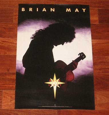 Brian May Back To The Light 1993 Original US Official Promo Only Poster / Queen