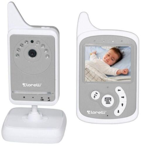Lorelli Video Phone Grijs Digitale Beeldbabyfoon 30002