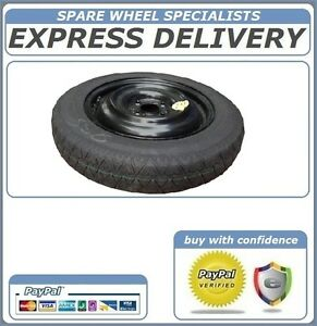 NISSAN NOTE 2013-2015 SPACE SAVER SPARE WHEEL 15